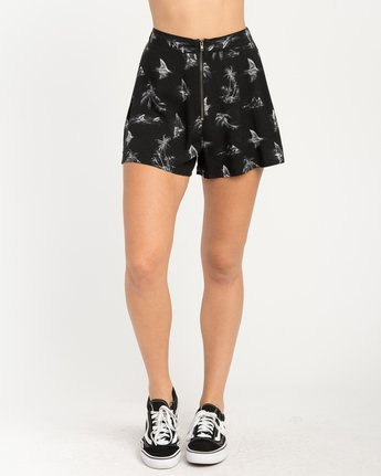 0 Lavish Printed Short Black W205PRLA RVCA