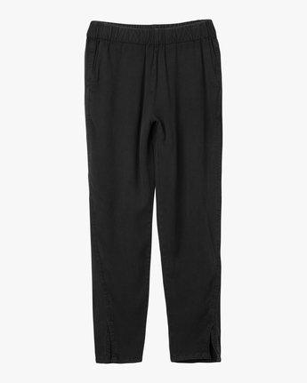 7 Chill Vibes Elastic Pant Black W301PRCV RVCA