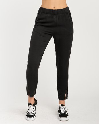 1 Chill Vibes Elastic Pant Black W301PRCV RVCA