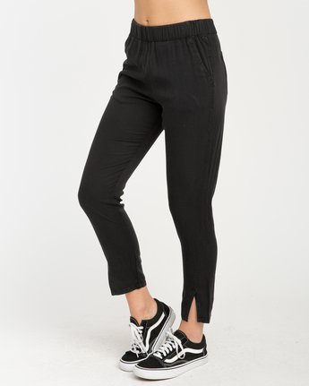 2 Chill Vibes Elastic Pant Black W301PRCV RVCA