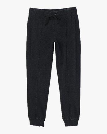 4 Faint Fleece Sweat Pant Black W301QRFA RVCA