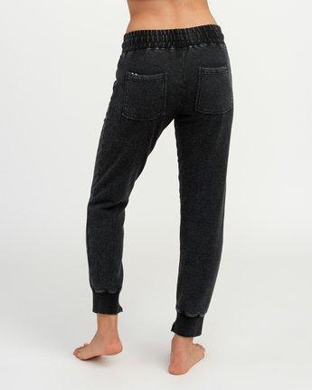 3 Faint Fleece Sweat Pant Black W301QRFA RVCA