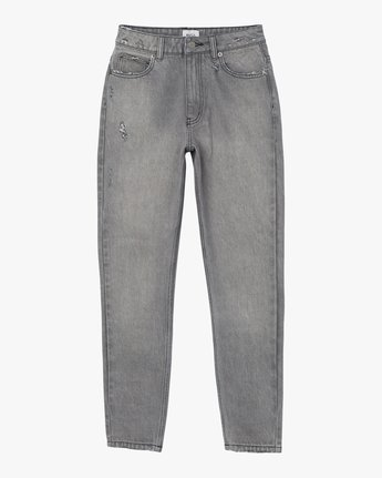 7 Piper High Rise Tapered Denim Jean Grey W302QRPI RVCA