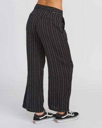 5 Power High Rise Twill Pants Black W303SRPO RVCA
