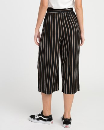 2 One Eighty Striped Culotte  W305NROE RVCA