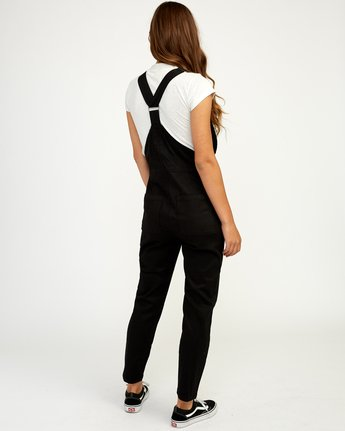 3 Peace Mission Woven Overall Black W305TRPM RVCA