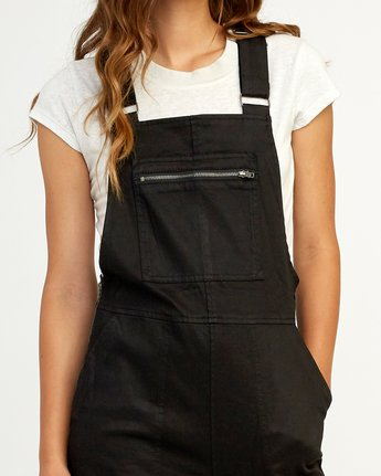 4 Peace Mission Woven Overall Black W305TRPM RVCA