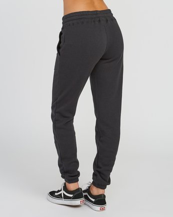 3 Pinner Fleece Sweat Pant Black W322SRPI RVCA