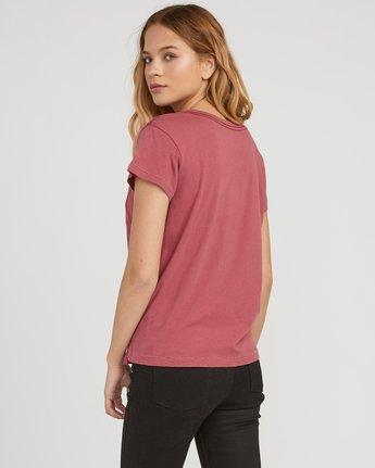 2 Marina Pocket T-Shirt Red W404SRMA RVCA
