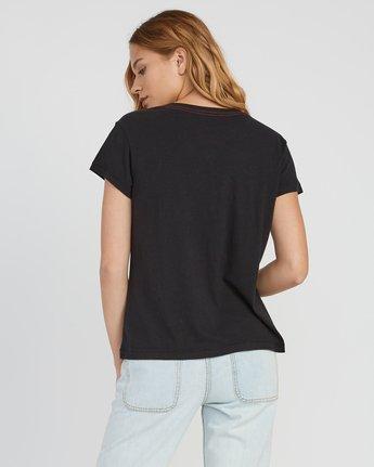 2 Stargaze Printed Pocket T-Shirt Black W404SRST RVCA