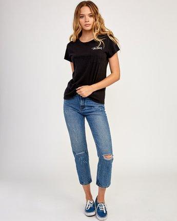 3 Fast Script T-Shirt Black W404TRFA RVCA