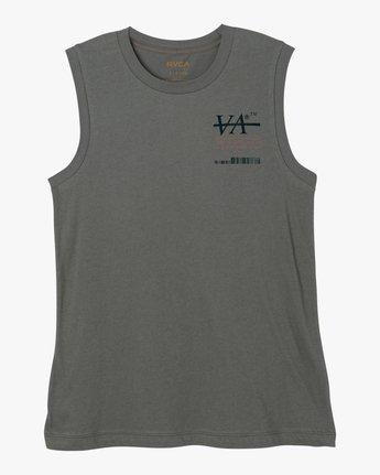 4 Displacement Sleeveless T-Shirt  W408NRDI RVCA