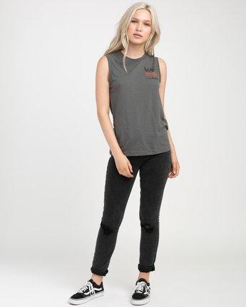 3 Displacement Sleeveless T-Shirt  W408NRDI RVCA