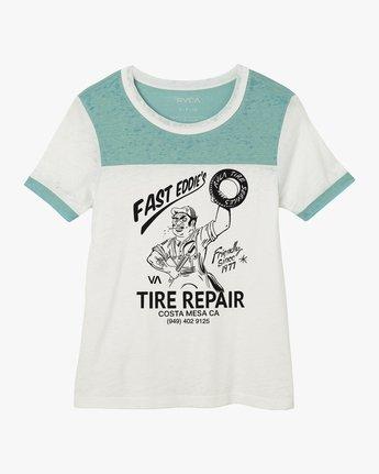4 World's Fastest Ringer T-Shirt  W410NRWO RVCA
