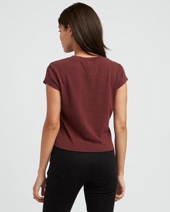 2 Alex Matus Fitted T-Shirt Pink W419SRMT RVCA