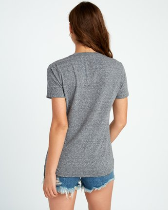 2 Motors Fill T-Shirt Grey W431SRMO RVCA