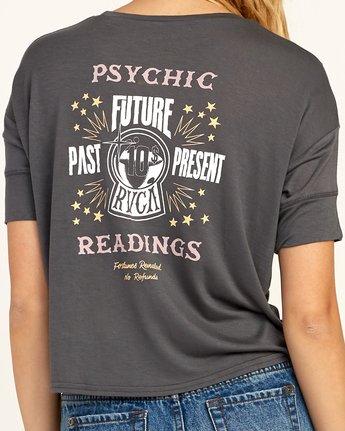 4 Psychic Drape T-Shirt Grey W435TRPS RVCA