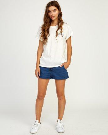 4 Balance T-Shirt White W436TRBA RVCA