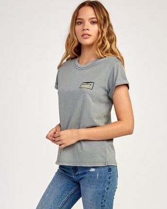 2 Balance T-Shirt Grey W436TRBA RVCA