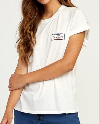 3 Balance T-Shirt White W436TRBA RVCA