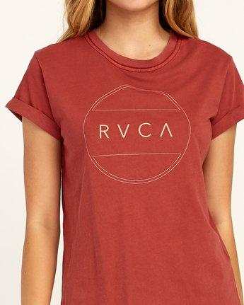 2 Billiard T-Shirt Red W436TRBI RVCA