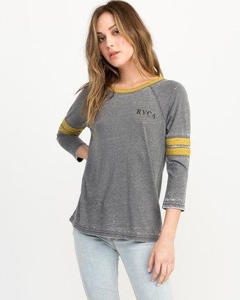 0 Cactus Road Tri-Blend T-Shirt Grey W457QRCA RVCA