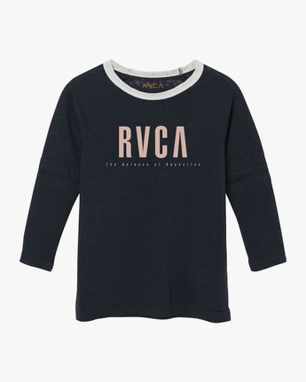 5 Marisol Burnout Ringer T-Shirt Grey W457SRMA RVCA