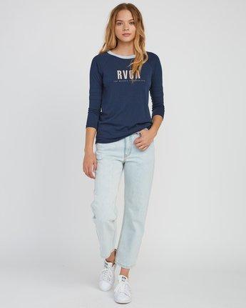 4 Marisol Burnout Ringer T-Shirt Grey W457SRMA RVCA