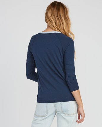 2 Marisol Burnout Ringer T-Shirt Grey W457SRMA RVCA