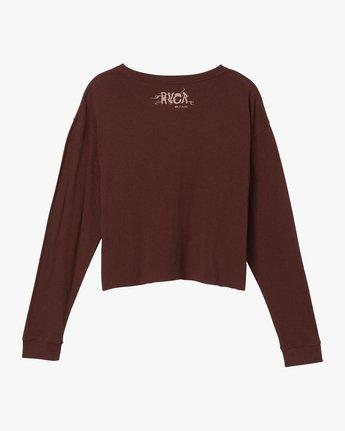 6 Longshore Knit T-Shirt Pink W458SRLO RVCA