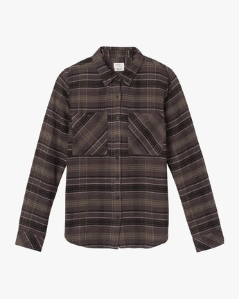 5 Roam Plaid Flannel Black W510SRRO RVCA