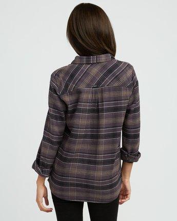 2 Roam Plaid Flannel Black W510SRRO RVCA