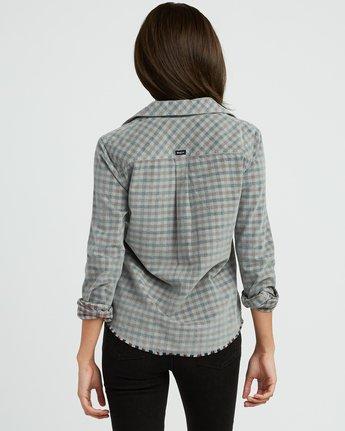 3 Buffalo Corduroy Button-Up Shirt Pink W512SRBU RVCA
