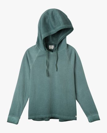 4 Hot Rod Acid Wash Hoodie  W602NRHM RVCA