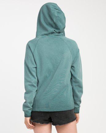 2 Hot Rod Acid Wash Hoodie  W602NRHM RVCA