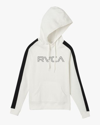 5 Pinner Colorblocked Hoodie White W612QRRV RVCA