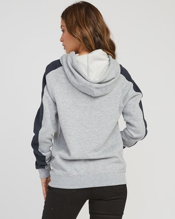 2 Motors Patch Colorblocked Hoodie  W612SRMO RVCA
