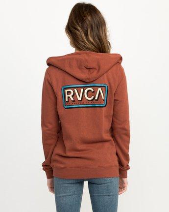 3 Octane Zip Up Hoodie  W616QROC RVCA