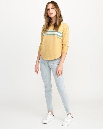 3 Day Stripe Pullover Crew Sweatshirt  W617QRDA RVCA