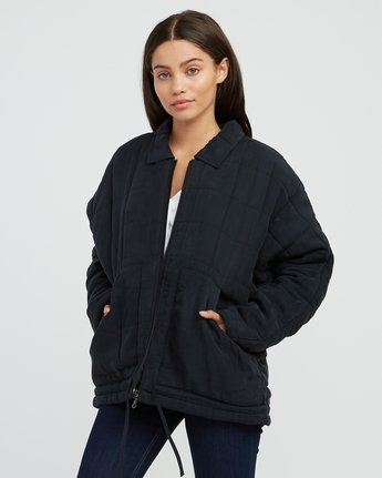 1 Carton Quilted Jacket Black W702SRCA RVCA