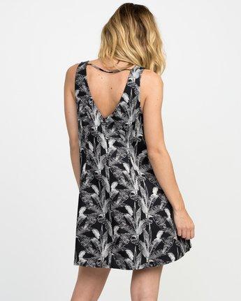 2 Landline Printed Woven Dress  WD01NRLA RVCA