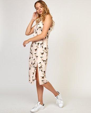 2 Fancy That Floral Dress Beige WD01TRFT RVCA