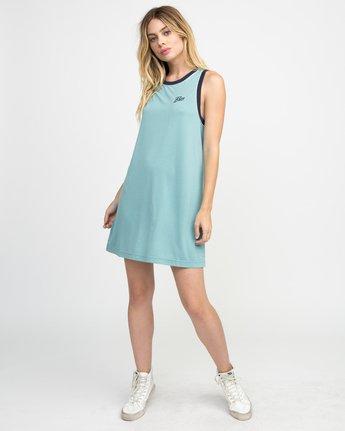 3 Offense Knit Dress Blue WD03NROF RVCA