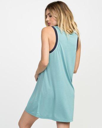 2 Offense Knit Dress Blue WD03NROF RVCA