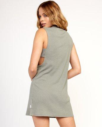 2 Talin Dress Grey WD03TRTA RVCA