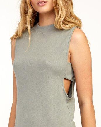 3 Talin Dress Grey WD03TRTA RVCA