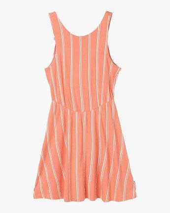 5 Peony Striped Dress Pink WD05PRPE RVCA