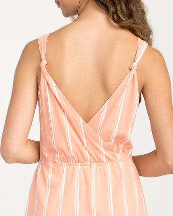 3 Peony Striped Dress Pink WD05PRPE RVCA