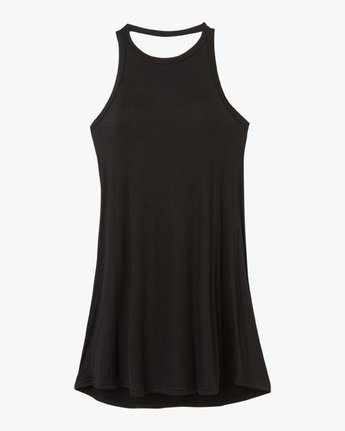 4 Linked Tank Dress Black WD05QRLI RVCA