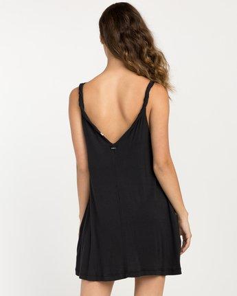 2 Chances Knit Tank Dress Black WD07NRCH RVCA